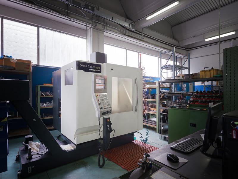 Centro di lavoro DMG DMC635V - Lavorazioni Meccaniche di Precisione