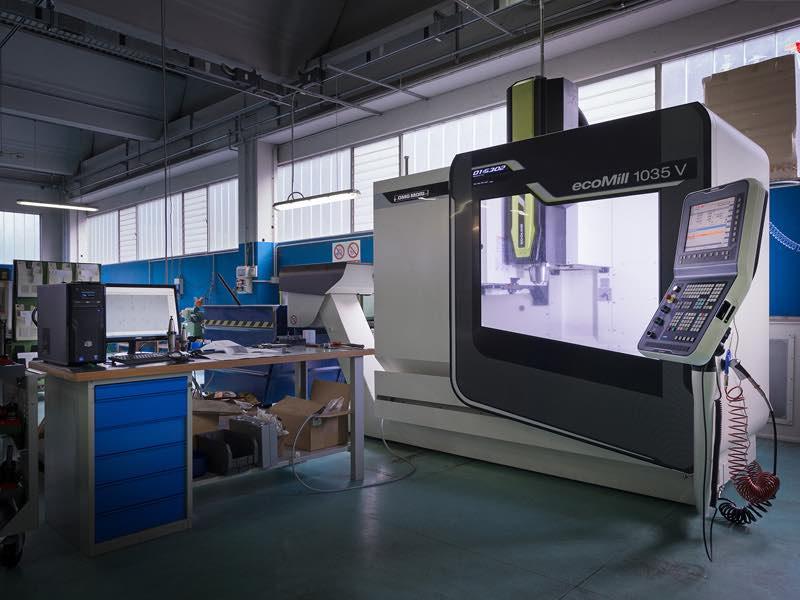 Centro di lavoro DMG DMC1035V - Lavorazioni Meccaniche di Precisione