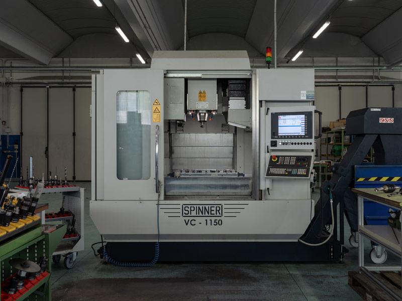 Centro di lavoro Spinner VC1150